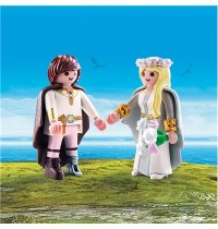 PLAYMOBIL 70045 - Dragons - Astrid und Hicks