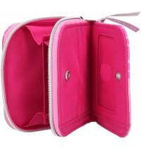 Depesche - TOPModel - Portemonnaie Streichpailllette TROPICAL, pink