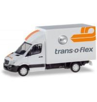 Herpa - Mercedes-Benz Sprinter mit Kofferaufbau Trans-O-Flex
