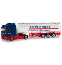 Herpa - Scania CR 20 ND Chemietank-Sattelzug Alfred Talke
