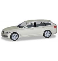 Herpa - BMW 5er Touring, alpinweiß