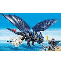 PLAYMOBIL 70037 - Dragons - Ohnezahn und Hicks Spielset