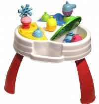 Lalaboom - Activity table plus 9 pcs beads and acces.