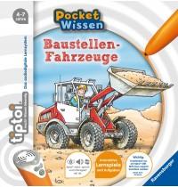 Ravensburger Buch - tiptoi - Pocket Wissen - Baustellen-Fahrzeuge