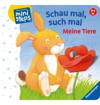 Ravensburger Buch - ministeps - Schau mal, such mal: Meine Tiere