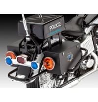 Revell - US Police Motorbike