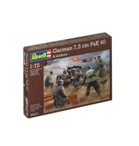 Revell - German Pak 40 with Soldiers