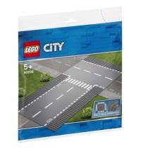 LEGO City Supplementary - 60236 Gerade und T-Kreuzung