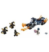 LEGO Marvel Avengers Movie 4 76123 - Captain America: Outrider-Attacke