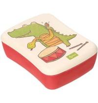 sigikid - Green Collection - Bambus Brotbox Krokodil