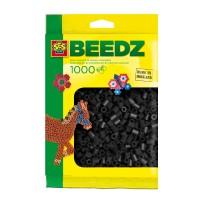 Bügelperlen schwarz 1000St.
