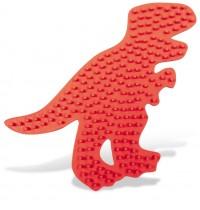 Bügelperlen Stifplatte T-rex