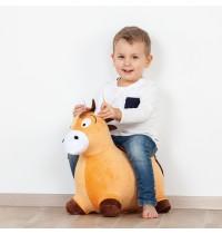 Hop Hop Pony mit Plüsch Überz Hop Hop Pony mit Plüsch Überzug