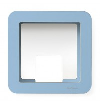 GlückAufWürfel Blau passend für Hörspielfiguren mit Magnetfuß