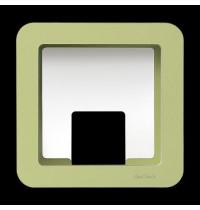 GlückAufWürfel Grün passend für Hörspielfiguren mit Magnetfuß