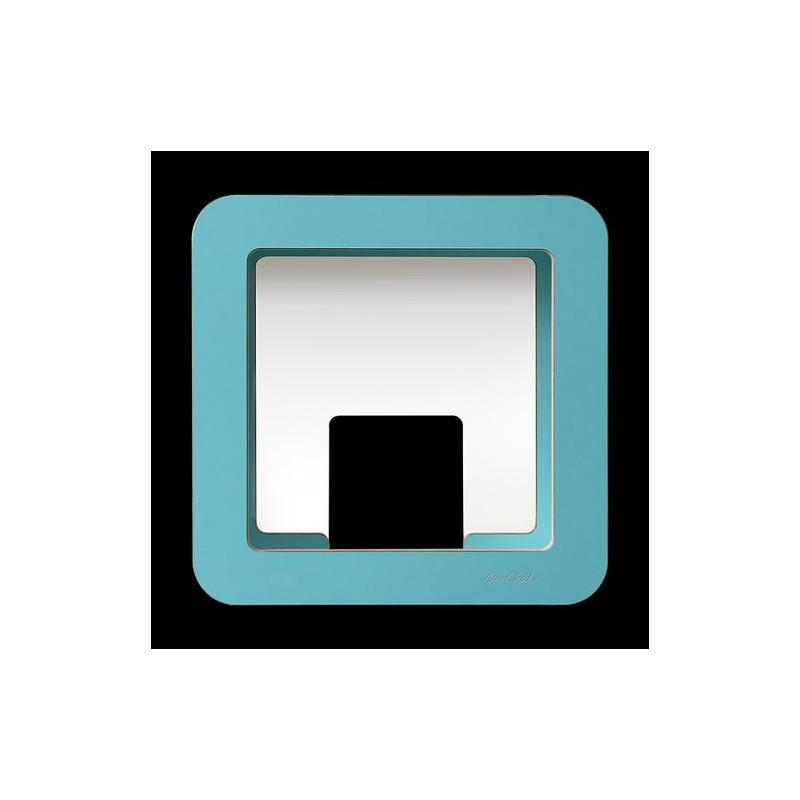 GlückAufWürfel Petrol passend für Hörspielfiguren mit Magnetfuß