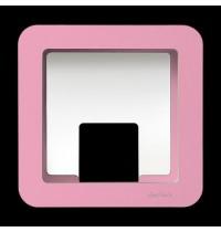GlückAufWürfel Pink passend für Hörspielfiguren mit Magnetfuß