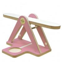 GlückAufWaage Pink passend für Hörspielfiguren mit Magnetfuß