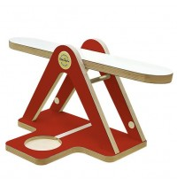 GlückAufWaage Rot passend für Hörspielfiguren mit Magnetfuß