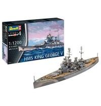 Revell - Model Set HMS King George V