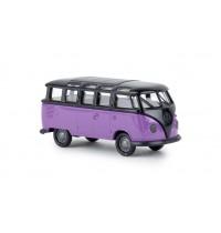 VW T1b Samba, schwarz, lila,