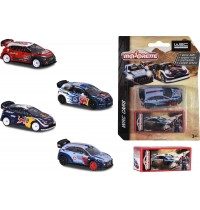 Majorette - WRC Assortment, 4-sort.