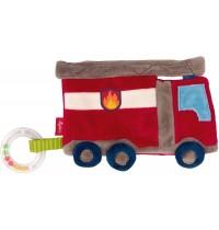 sigikid - Baby Activity - Aktiv-Knistertuch Feuerwehr