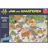 Jumbo Spiele - Jan van Haasteren - Wildwasser-Rafting - 3000 Teile
