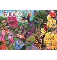Jumbo Spiele - Ein Garten voller Kolibris - 1500 Teile