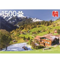 Jumbo Spiele - Berner Oberland, Schweiz - 1500 Teile