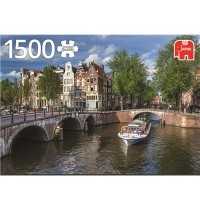 Jumbo Spiele - Herengracht, Amsterdam - 1500 Teile