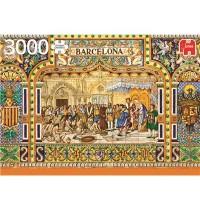 Jumbo Spiele - Fliesen aus Barcelona - 3000 Teile