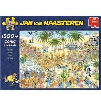 Jumbo Spiele - Jan van Haasteren - Die Oase - 1500 Teile