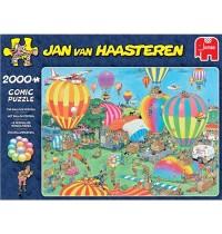 Jumbo Spiele - Jan van Haasteren - Das Ballonfestival - 2000 Teile