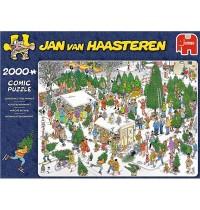 Jumbo Spiele - Jan van Haasteren - Weihnachtsbaummarkt - 2000 Teile