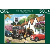 Jumbo Spiele - The Delivery Round - 500 Teile