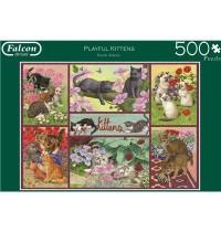 Jumbo Spiele - Playful Kittens - 500 Teile
