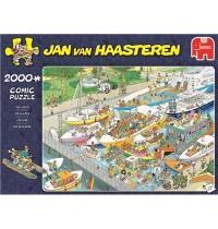 Jumbo Spiele - Jan van Haasteren - Die Schleuse - 2000 Teile
