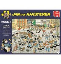Jumbo Spiele - Jan van Haasteren - Der Vieh-Markt - 2000 Teile