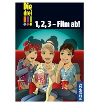 KOSMOS - Die Drei !!! - 1, 2, 3 - Film ab, Doppelband