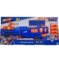 Hasbro - Trilogy DS-15 Nerf N-Strike Elite Spielzeug Blaster mit 15 Nerf Elite Darts und 5 Hülsen