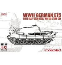 1/72 WWII German E-75 super Hersteller: Modelcollect