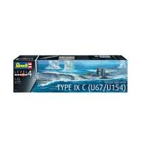 Revell - German Submarine Type IX C U6