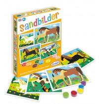 Sandbilder Pferde (d)