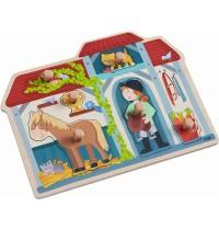 HABA® - Greifpuzzle Im Pferdestall