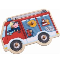 HABA® - Greifpuzzle Feuerwehrauto