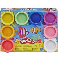 Hasbro - Play-Doh - 8er Pack E5062 und E5063