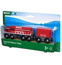 BRIO Bahn - Roter Frachtzug, Special Edition Train 2019