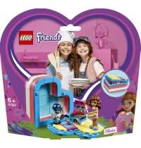 LEGO® Friends 41387 Olivias sommerliche Herzbox, 93 Teile, ab 6 Jahre