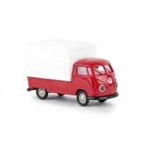 VW T1b Großraum-Koffer, rot,